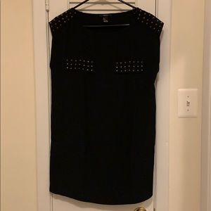 Spiked studs sleeveless dress by Forever 21
